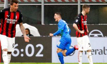 Hasil Pertandingan AC Milan vs Sassuolo: Skor 1-2