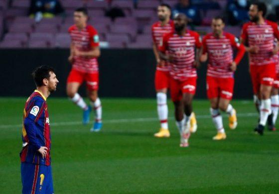 Hasil Pertandingan Barcelona vs Granada: Skor 1-2