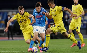 Napoli vs Verona: Imbang, Il Partenopei Gagal ke Liga Champions