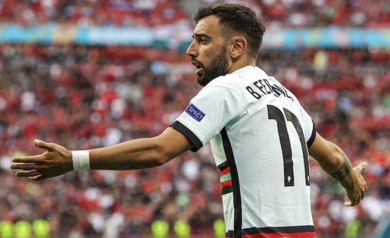 Suara Fans tentang Bruno Fernandes di Euro 2020: AFK, Gagal Total, Mas-mas Biasa di Timnas