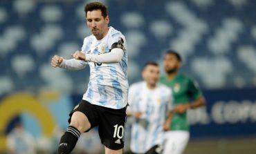 Pecahkan Rekor Caps Argentina dengan Cetak 2 Gol, Lionel Messi Banjir Pujian dari Netizen