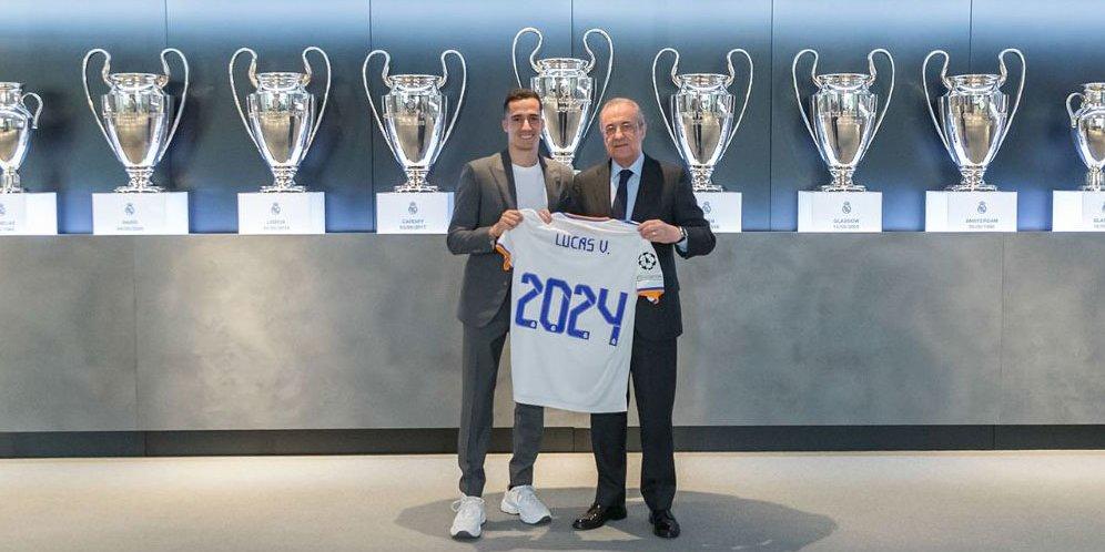 Batal Pergi, Lucas Vazquez Resmi Perpanjang Kontrak di Real Madrid