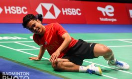 Anthony Ginting Cidera di Denmark Open 2021