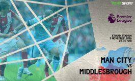 Prediksi Pertandingan Antara Manchester City Melawan Middlesbrough