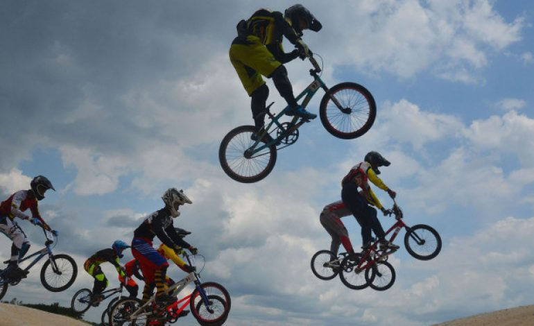3 Atlet BMX Indonesia Saling Sikut Jelang Asian Games 2018