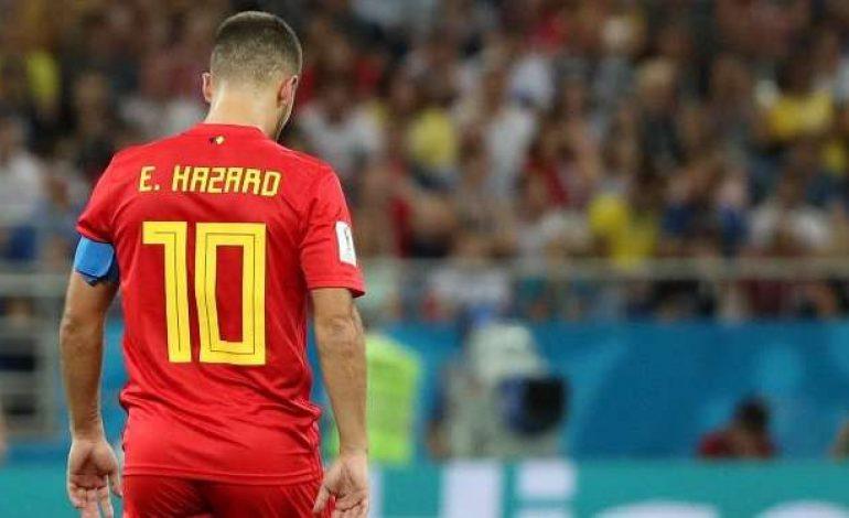Hazard Lakukan Ritual Unik Jelang Belgia Vs Prancis