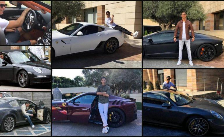 Pindah ke Turin, Ronaldo Belum Miliki Mobil Fiat