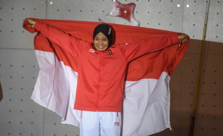VIDEO – Aksi Aries Susanti, Spiderwoman Penyumbang Medali Emas yang Sukses Memesona Netizen Indonesia