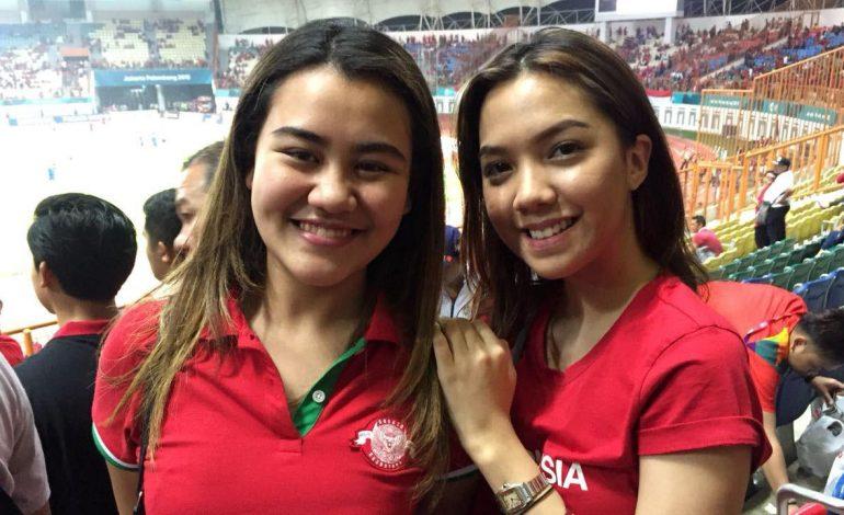 2 Suporter Wanita Cantik Ini Tak Kapok Nonton Timnas Indonesia U-23
