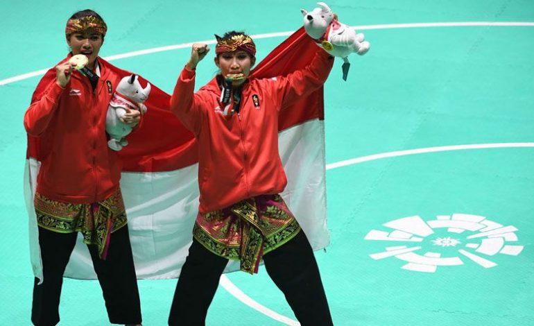 Sumbang Emas, Atlet Pencak Silat Ganda Putri Indonesia jadi Sorotan Media Asing