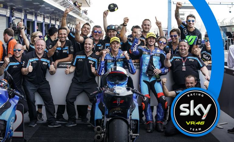 Timnya Valentino Rossi Cetak Sejarah di MotoGP Thailand