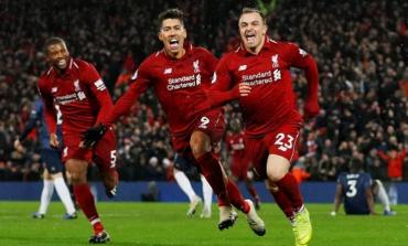 Liverpool Cukur Manchester United di Anfield