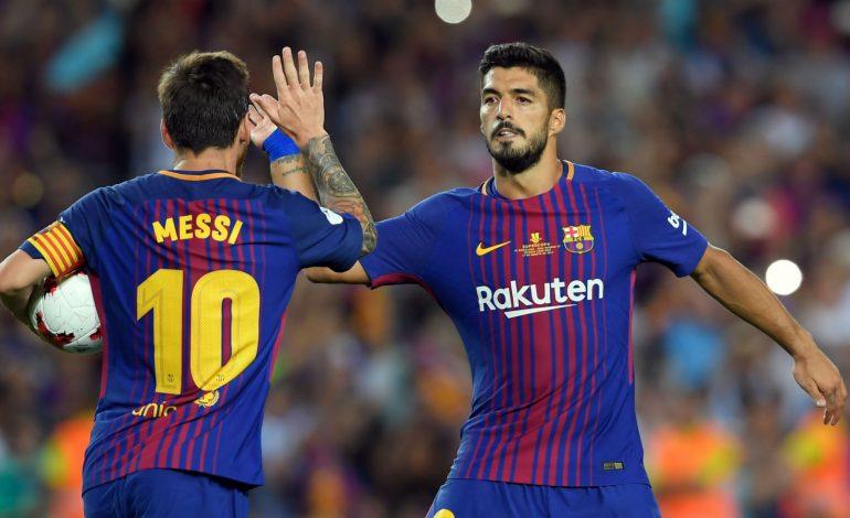 Messi dan Suarez Bawa Barcelona Kukuh di Puncak Klasemen