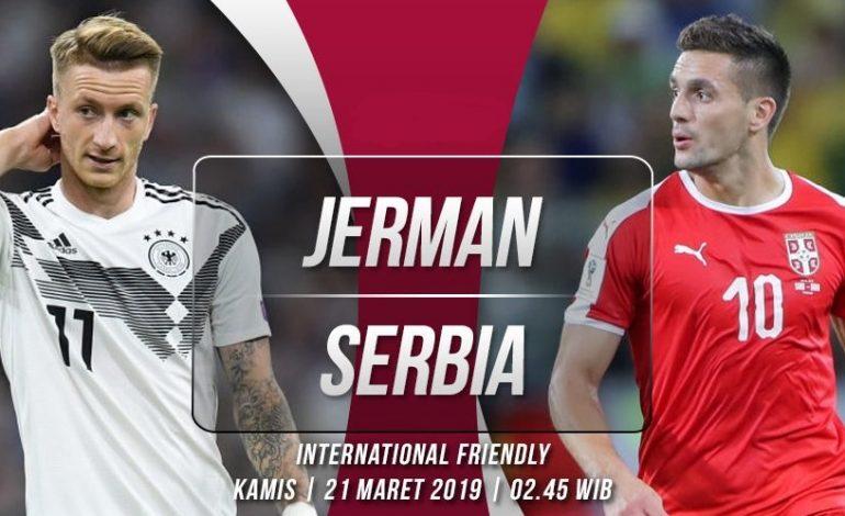 Jelang Jerman vs Serbia: Unjuk Gigi Angkatan Muda