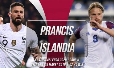 Prancis vs Islandia, Ulangan Perempat Final Piala Eropa 2016