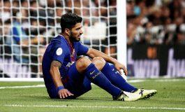 Barcelona Pastikan Suarez Absen Dua Pekan akibat Cedera