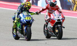 Bantah Mengalah dari Rossi, Dovi Mengaku Ban Bermasalah