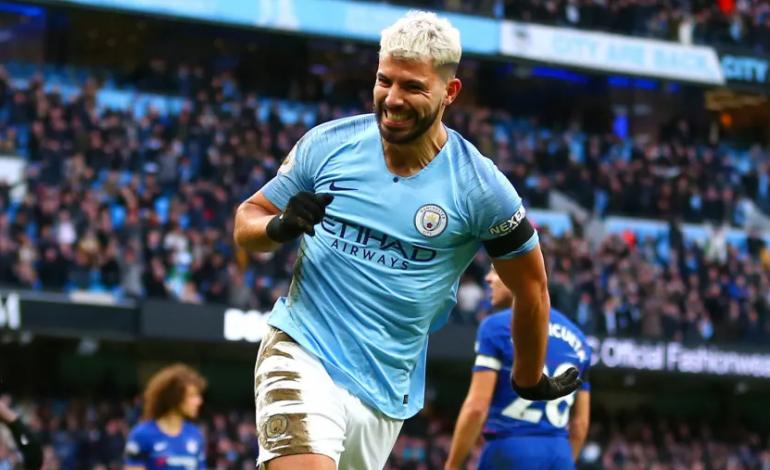 Sergio Aguero Legenda Hidup Manchester City