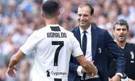 Allegri Minta Ronaldo Tularkan Energi pada Pemain Juventus