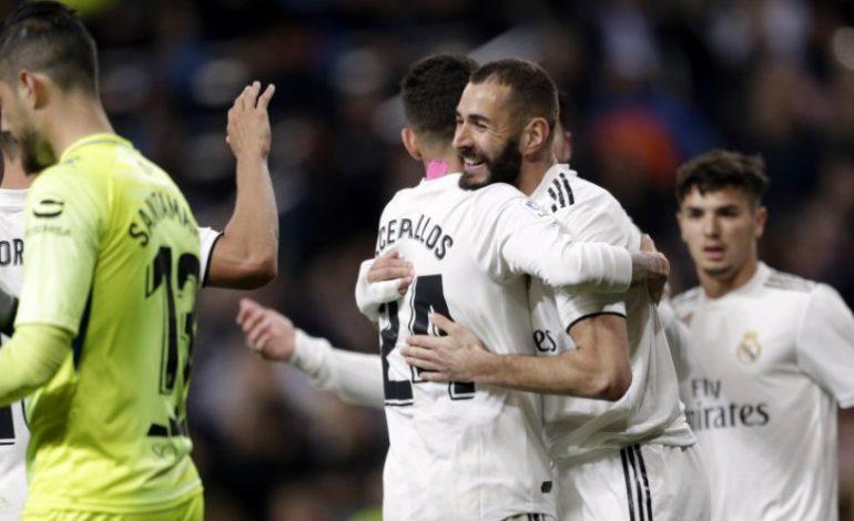 Karim Benzema Jadi Penyelamat Real Madrid di Bernabeu