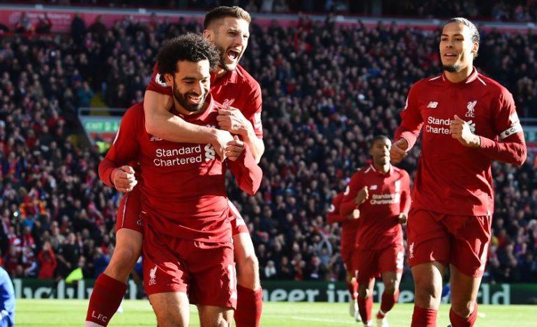 Liverpool Kembali ke Puncak Klasemen Usai Bungkam Cardiff