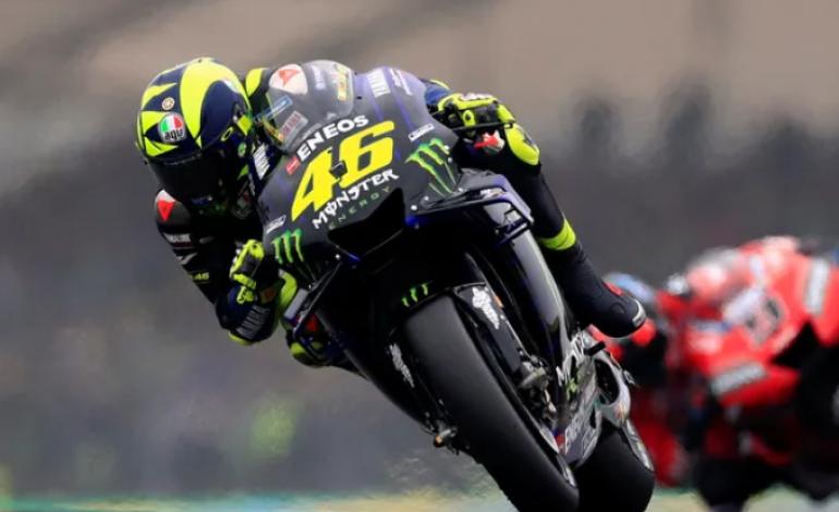 Gagal Raih Podium di Le Mans, Rossi Tetap Berpikir Positif