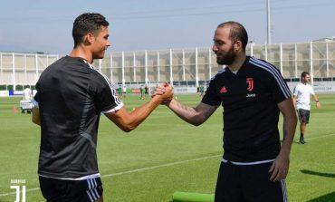 Tes Sprint Latihan Juventus, Ronaldo dan Higuain Beda Jauh