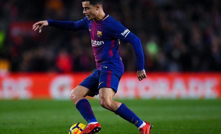 Melempem di Barcelona, Banderol Philippe Coutinho Terjun Bebas