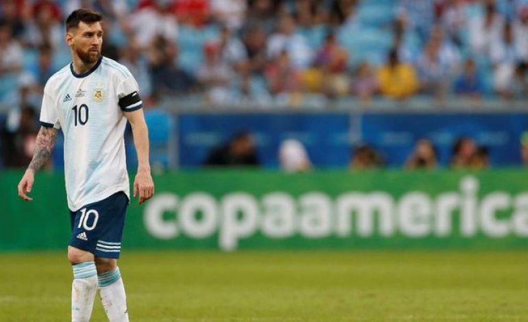 Catatan Jelek Messi di Turnamen Resmi Lawan Brasil