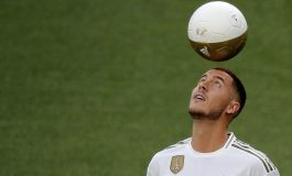 Bukan 7 Atau 10, Eden Hazard Pilih Nomor 23 di Real Madrid