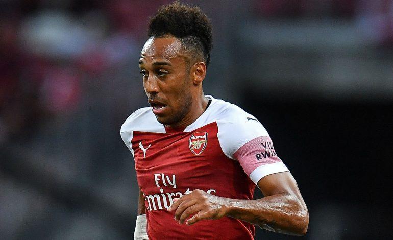 Arsenal Tak Akan Biarkan Aubameyang Membelot ke Manchester United
