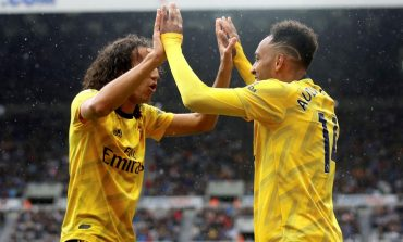 Gol Pierre-Emerick Aubameyang Bawa Arsenal Bungkam Newcastle United