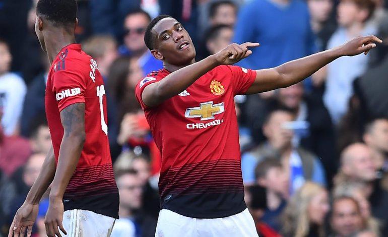 Martial Tak Masalah bila Marcus Rashford Jadi Striker Utama Manchester United