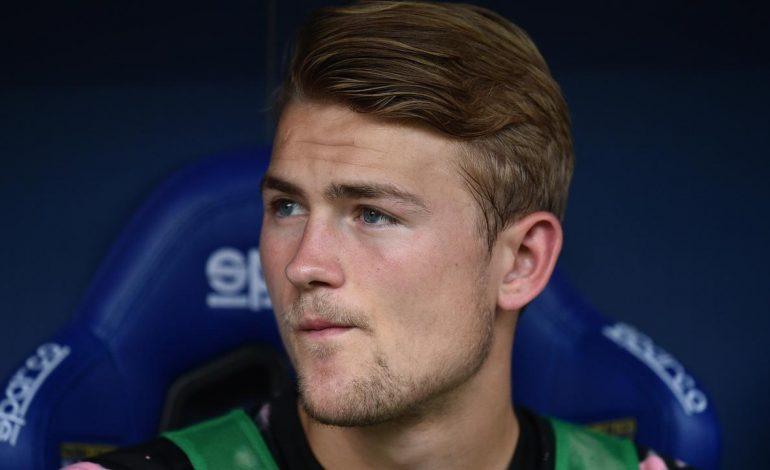 Matthijs de Ligt Tak Mengira Jadi Pemain Pengganti di Juventus