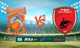 Hasil Pertandingan Borneo FC vs PSM Makassar: Skor 2-0