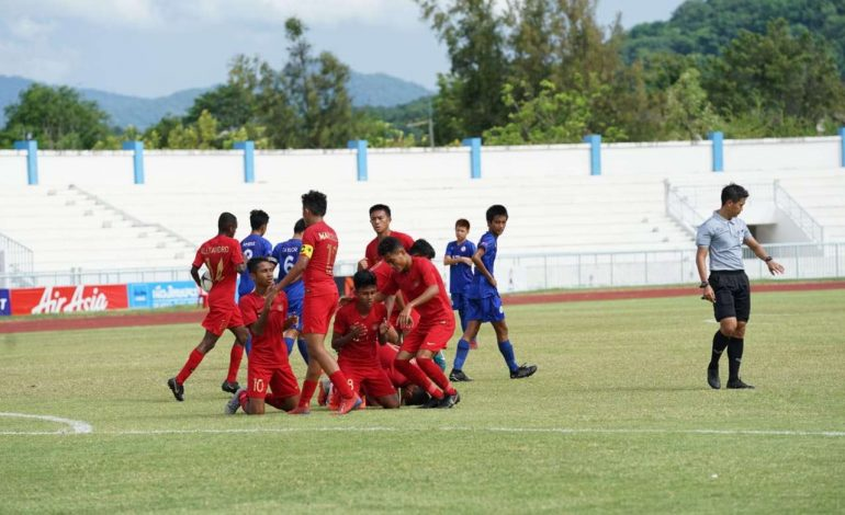 Piala AFF U-15: Filipina vs Indonesia