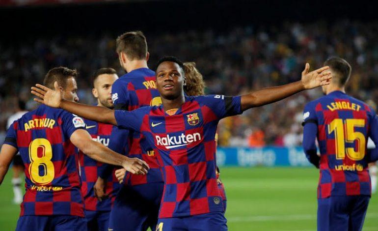Ansu Fati Berpeluang Tampil saat Barcelona Bertandang ke Markas Dortmund