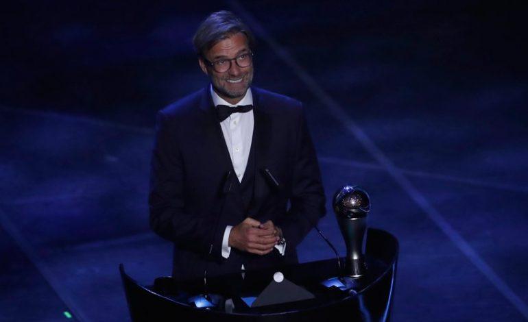 Jurgen Klopp Raih Penghargaan Pelatih Terbaik FIFA 2019