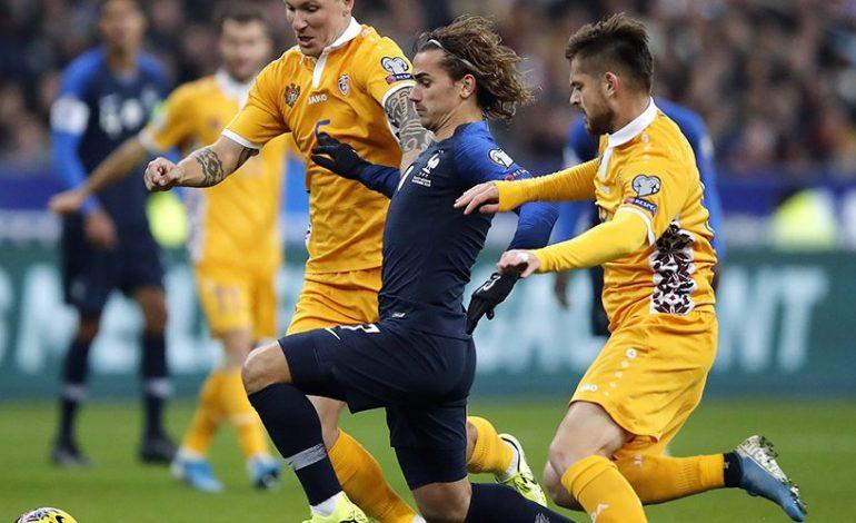 Hasil Pertandingan Prancis vs Moldova: Skor 2-1