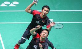 Cuma 27 Menit, Hendra/Ahsan Ke Semifinal vs Mantan Juara Dunia