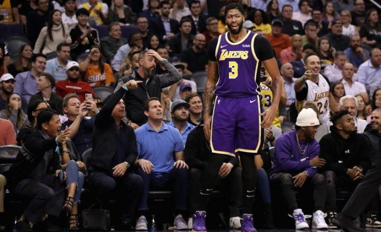 Anthony Davis Tampil Gemilang, LA Lakers Sukses Bungkam Phoenix Suns