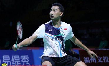Tommy Pastikan Fuzhou China Open 2019 Jadi Turnamen Terakhirnya di Tahun Ini