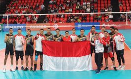 10 Tahun Puasa Emas di SEA Games, Tim Voli Putra Kembali Berjaya