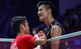 Drama Mengiringi Lolosnya Anthony dan Chen Long Ke Semifinal