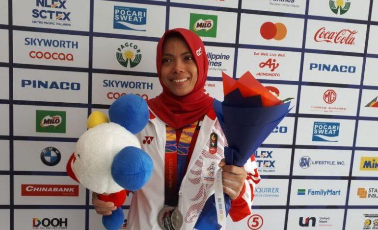 Lisa Setiawati Syukuri Medali Perak di SEA Games 2019
