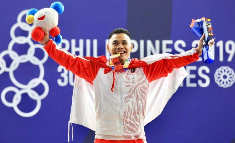 Dapat Emas SEA Games 2019, Atlet Angkat Besi Eko Yuli Bidik Olimpiade 2020