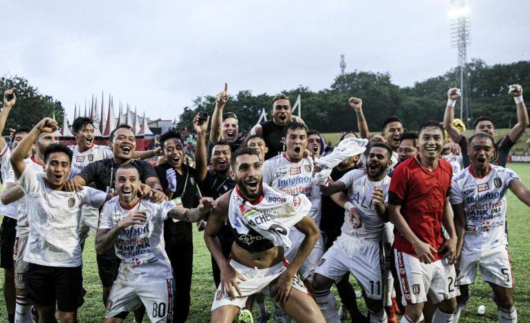 Pelatih Bali United Berharap Angkat Trofi Saat Menjamu Persipura