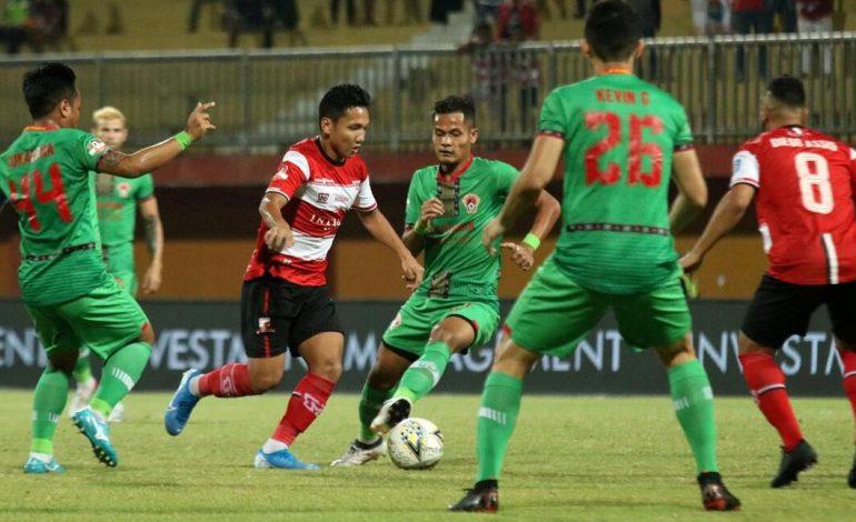 Hentikan Rentetan Kekalahan, Madura United Bungkam Kalteng Putra 4-1