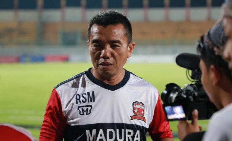Pelatih Madura United Menaruh Simpati terhadap Kalteng Putra