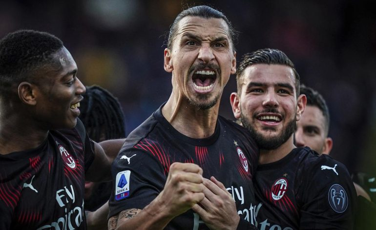 Pelatih AC Milan Dibuat Geleng-Geleng Menyaksikan Aksi Zlatan Ibrahimovic